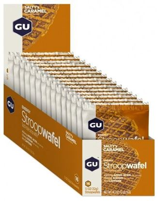 Picture of GU Waffles - Box (16 Waffles)