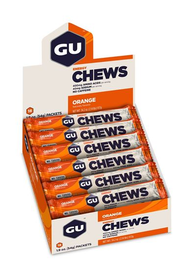 Picture of Gu Chews - Box (18 packs)