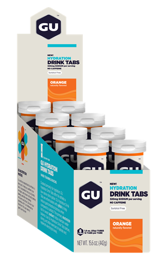 Picture of Gu Hydration Drink Tablets - (Box - 8 tubes)