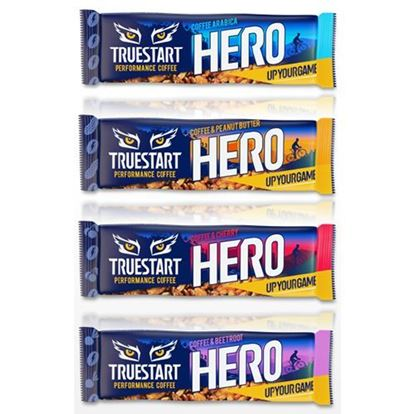 Picture of True Start Performance Coffee Flavoured Bars - 95mg per bar x12 per caddy