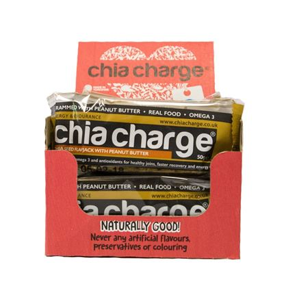 Picture of Chia Charge 50g Flapjacks (12 x 50g Bars)