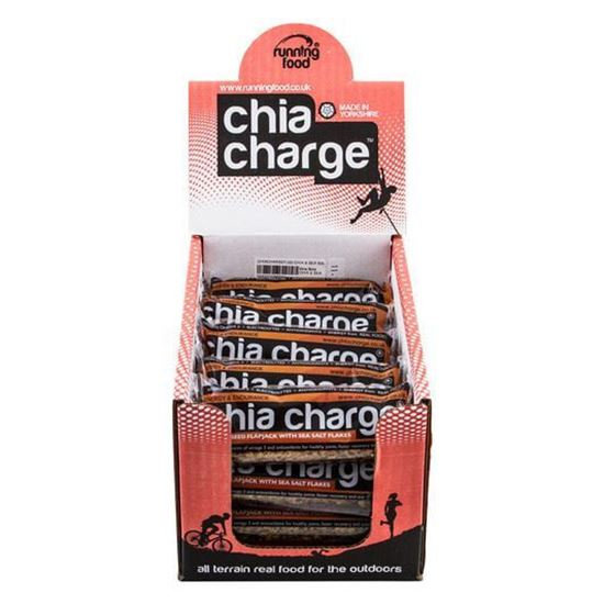 Picture of Chia Charge 80g Flapjacks (20 x 80g Bars)