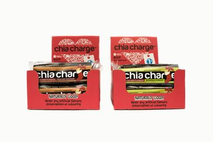 Picture of Chia Charge 55g LIMITED EDITION - CHRISTMAS Flapjacks (12 x 55g Bars)