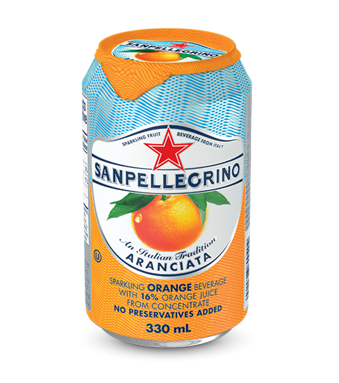 Picture of San Pellegrino 330ml Can (24 pack)