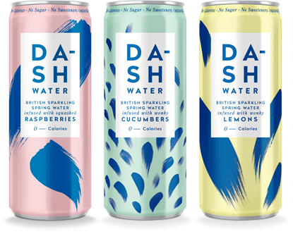 Picture of Dash Water 330ml Can (12 pack)