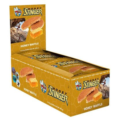 Picture of Honey Stinger Waffles - Box (16 packs)