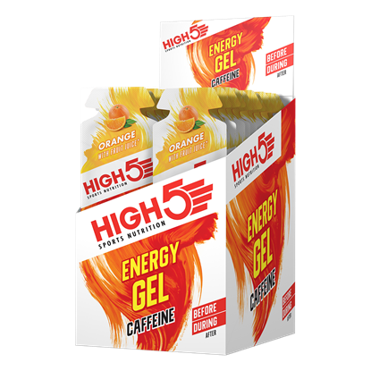 Picture of High 5 Energy Gel + Caffeine - 20 Pack