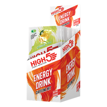 Picture of High 5 Energy Drink Caffeine Hit - (12 Sachet Pack)