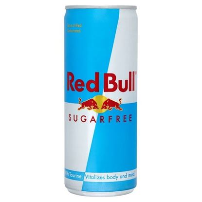Picture of Red Bull 250ml Sugar Free Can (24 Pack)