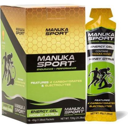 Picture of Manuka Sport - Manuka Honey Gel - 16 Pack
