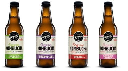 Picture of Remedy Kombucha - 12 x 330ml Glass bottles
