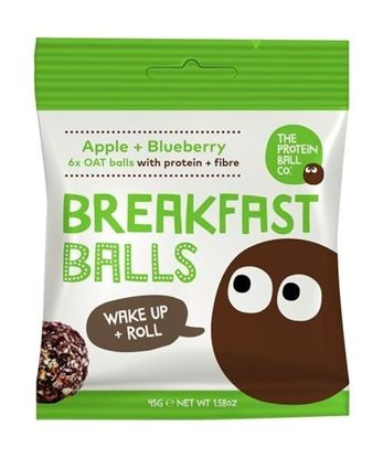 Picture of The Protein Ball Company - Vegan Breakfast Balls (10 x 45g bags)