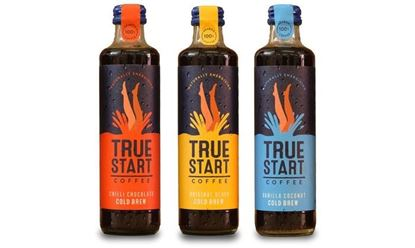 Picture of TrueStart Cold Brew Coffee 24 x 250ml Glass bottles