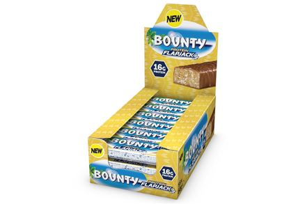 Picture of Bounty Protein Flapjack Bars (18 Bars)