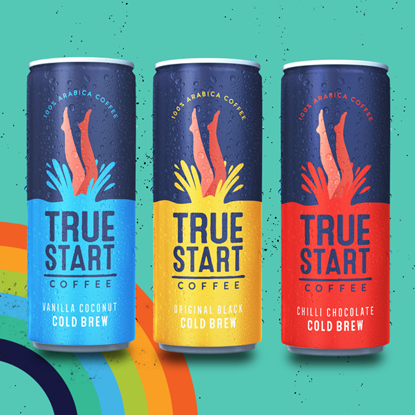 Picture of TrueStart Cold Brew Coffee 24 x 250ml Cans