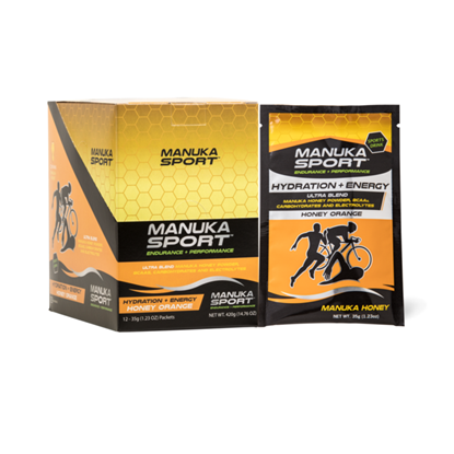 Picture of Manuka Sport Hydration Energy - Orange - 12 Pack