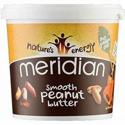 Picture of Meridian Smooth Peanut Butter 1 KG TUB