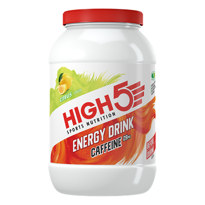 Picture of High 5 Energy Drink Caffeine - Citrus Favour 2.2kg