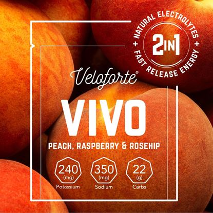 Picture of Veloforte Vivo – Natural Energy & Electrolyte Drink (24 X 24g)