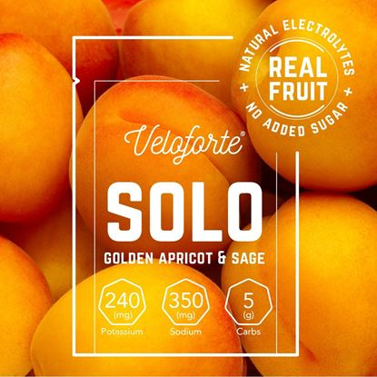 Picture of Veloforte Solo – Natural Electrolyte Rehydration Drink (24 X 7g)