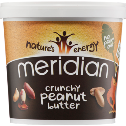 Picture of Meridian Crunchy Peanut Butter 1 KG TUB