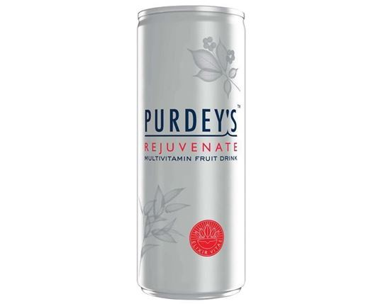 Picture of Purdeys Natural Energy Rejuvenate 12 X 250ml cans