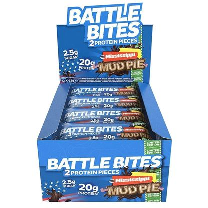 Picture of Battle Oats High Protein, Low-Sugar Bites - 12 pack