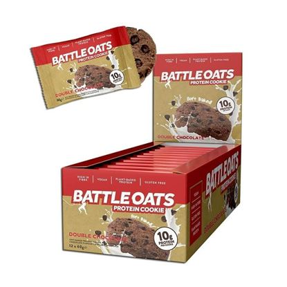 Picture of Battle Oats Vegan Protein Cookies - 12 pack
