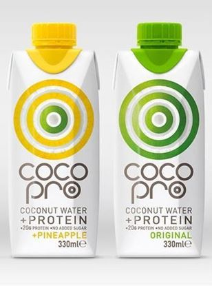 Picture of Coco Pro - low sugar, high protein coconut water - 8 x 330ml