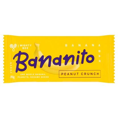 Picture of Bananito Banana Energy Bars (24 x 35g Bars)
