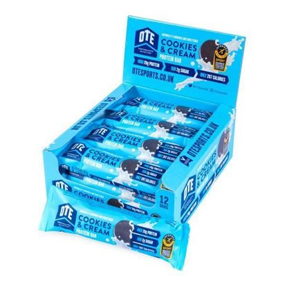 Picture of OTE Protein Bar Box (12 x 63g Bars)