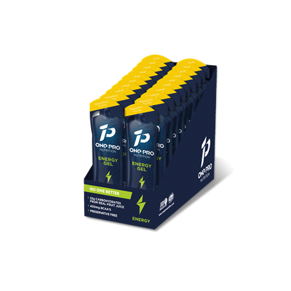 Picture of ONE PRO Nutrition Energy Gels with BCAA's (20 X 50g)
