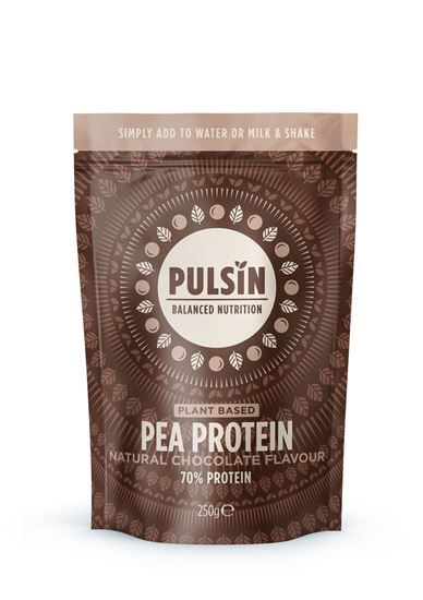 Picture of Pulsin Natural Chocolate Flavour Pea Protein 250g