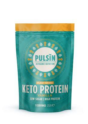 Picture of Pulsin Keto Vanilla 980g Powder