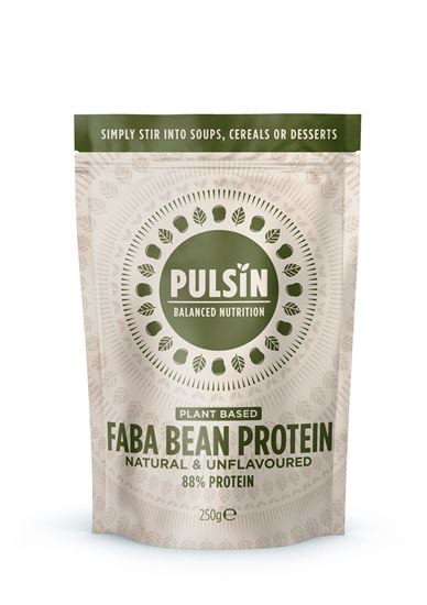 Picture of Pulsin Faba Bean Protein 250g Powder