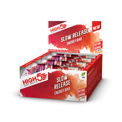Picture of High 5 Slow Release Range: Energy Bar (16 x 40g)