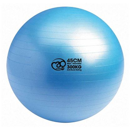 Picture of Mad Fitness: 300Kg Anti-Burst Swiss Ball 45cm - Blue (FBALL45)