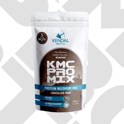 Picture of Kendal Mint Co Chocolate Mint Protein Recovery Powder 720g (100% recyclable packaging)