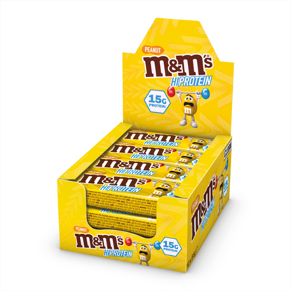 Picture of Mars M&M Peanut Protein Bars (12 Bars)