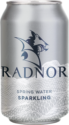 Picture of Radnor Canned Welsh Sparking Spring Water 330ml Can (24 pack)