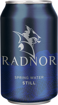 Picture of Radnor Canned Welsh Still Spring Water 330ml Can (24 pack)