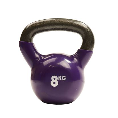 Picture of Mad Fitness: 8Kg Purple Kettlebell (FKETTLE8)