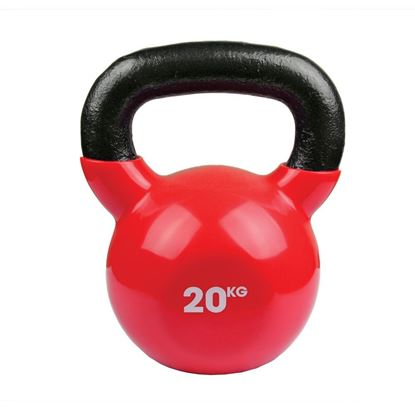 Picture of Mad Fitness: 20kg Red Kettlebell (FKETTLE20)