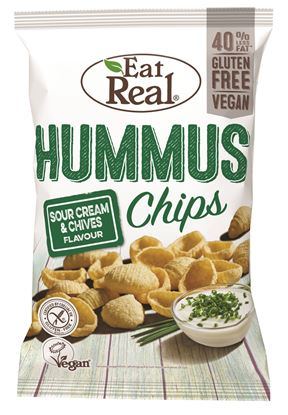 Picture of Eat Real: Hummus Chips (12 X 45g)