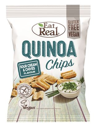 Picture of Eat Real: Quinoa Chips (12 X 30g)