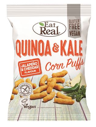 Picture of Eat Real: Quinoa & Kale Puffs (12 X 40g)