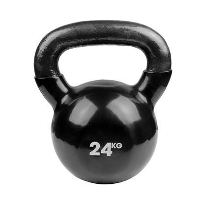Picture of Mad Fitness: 24kg Black Kettlebell (FKETTLEBLK24)