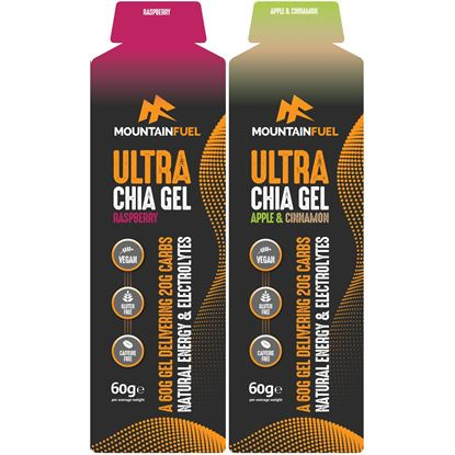 Picture of Mountain Fuel: Ultra Chia Gel (Box 24 x 60g gels)