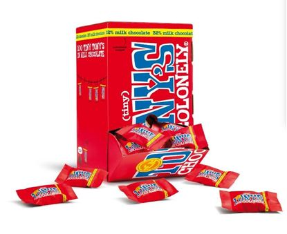 Picture of Tony's Chocolonely Tiny's (100 x 9g Bars)