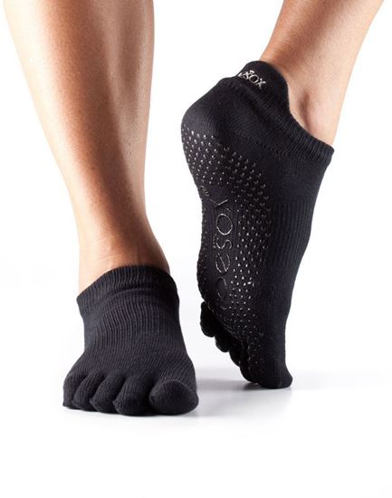 Picture of ToeSox: Full Toe Low Rise Grip Socks
